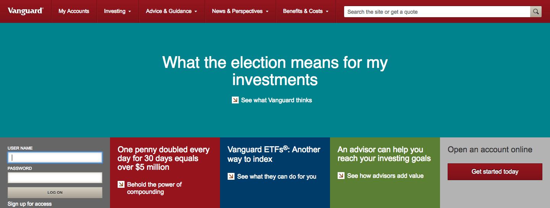 Vanguard Invest Portfolio